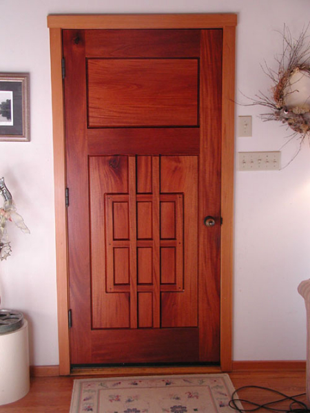 Inside of the entry door