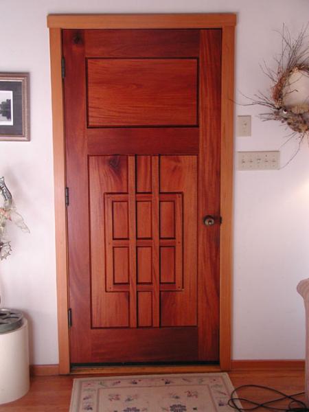 Inside of the entry door